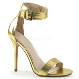 Ouro 13 cm AMUSE-10 sapatos de travesti