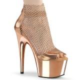 Ouro 18 cm ADORE-765RM brilho plataforma zapatos mulher