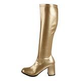 Ouro Fosco 7,5 cm Funtasma GOGO-300 Botas Femininas