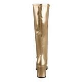 Ouro Fosco 8,5 cm Funtasma GOGO-300 Botas Femininas