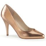 Ouro Rosa 10 cm VANITY-420 Scarpin Saltos Altos para Homens