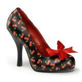 Padrao de Cereja 12 cm CUTIEPIE-06 Sapatos Scarpin Femininos