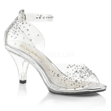 Pedra strass 8 cm BELLE-330RS sapatos de travesti