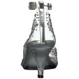 Pedra strass 8 cm BELLE-330RS sapatos de travesti
