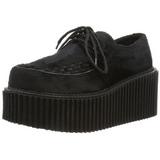 Pelicas 7,5 cm CREEPER-202 sapatos creepers mulher solas grossas