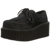 Pelicas 7,5 cm CREEPER-202 sapatos creepers rockabilly plataforma