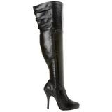Pernas Grossas 13 cm DIVA-3006X botas altas cano longo