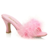 Pink 7,5 cm FLAPPER-01F marabu penas Tamancos Altos