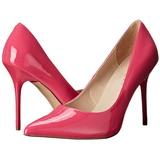 Pink Verniz 10 cm CLASSIQUE-20 Sapatos Scarpin Salto Agulha