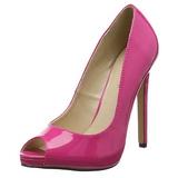 Pink Verniz 13 cm SEXY-42 classico calçados scarpini