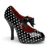 Pontos Brancos 12 cm CUTIEPIE-07 Sapatos Scarpin Femininos