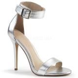 Prata 13 cm AMUSE-10 sapatos de travesti
