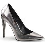 Prata Fosco 11,5 cm VOLTAGE-01 classico calçados scarpini