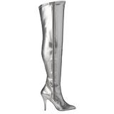 Prata Fosco 13 cm SEDUCE-3000 bota acima do joelho