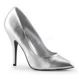 Prata Fosco 13 cm SEDUCE-420 Sapatos Scarpin Femininos