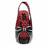 Preto 11,5 cm BETTIE-05 calçados femininos com salto alto