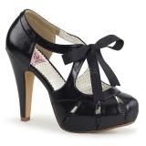 Preto 11,5 cm BETTIE-19 calçados femininos com salto alto