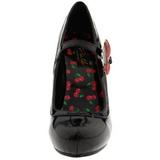 Preto 11,5 cm CUTIEPIE-10 calçados femininos com salto alto
