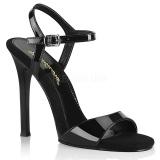 Preto 11,5 cm GALA-09 fabulicious sandálias salto agulha