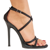 Preto 11,5 cm GALA-41 Sandálias Salto Agulha Femininos