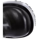 Preto 11 cm CONCORD-108 botas de mulher plataforma góticos