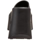 Preto 13,5 cm DYNAMITE-01 Plataforma Goticas Sandálias Dedo Mulheres