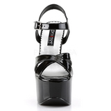 Preto 16,5 cm CANDY-40 calçados femininos com salto alto