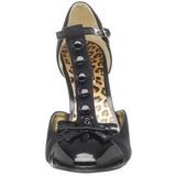 Preto Camurca 10 cm SMITTEN-10 Sapatos Scarpin Femininos