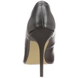 Preto Fosco 10 cm CLASSIQUE-20 Sapatos Scarpin Salto Agulha