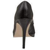 Preto Fosco 11 cm BLISS-30 Sapatos Scarpin Salto Agulha