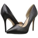 Preto Fosco 13 cm AMUSE-22 classico calçados scarpini