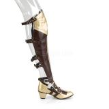 Preto Fosco 6,5 cm MAIDEN-8830 Botas altas cosplay