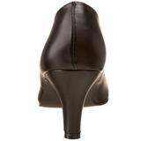 Preto Fosco 8 cm DIVINE-420W Sapatos Scarpin Femininos