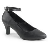 Preto Imitação couro 8 cm DIVINE-431W Sapatos Scarpin Femininos