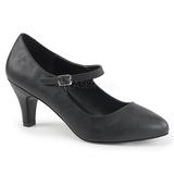 Preto Imitação couro 8 cm DIVINE-440 Sapatos Scarpin Femininos