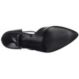 Preto Imitação de couro 10,5 cm VANITY-415 Sapatos Scarpin Femininos