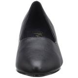 Preto Imitação de couro 5 cm FAB-420W Sapatos Scarpin Femininos
