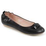 Preto OLIVE-08 sapatos de bailarinas baixos
