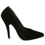 Preto Veludo 13 cm SEDUCE-420 Sapatos Scarpin Femininos