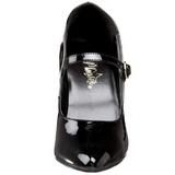 Preto Verniz 10,5 cm VANITY-440 Sapatos Scarpin Femininos