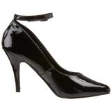 Preto Verniz 10 cm VANITY-431 Sapatos Scarpin Femininos