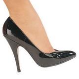 Preto Verniz 13 cm SEDUCE-420V Sapatos Scarpin Femininos