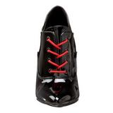Preto Verniz 13 cm SEDUCE-460 Sapatos Scarpin Femininos Oxford