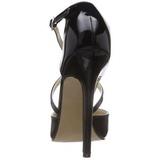 Preto Verniz 13 cm SEXY-26 classico calçados scarpini