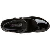 Preto Verniz 5 cm SCHOOLGIRL-50 classico calçados scarpini