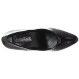 Preto Verniz 7,5 cm PUMP-420 classico calçados scarpini