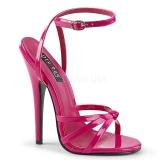 Rosa 15 cm DOMINA-108 sapatos de travesti
