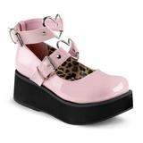 Rosa 6 cm SPRITE-02 sapatos plataforma alternativos