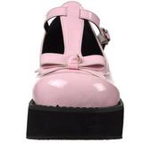 Rosa 6 cm SPRITE-03 sapatos lolita gotico calçados com solas grossas