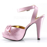 Rosa Cetim 12 cm PINUP COUTURE BETTIE-04 Plataforma Saltos Altos